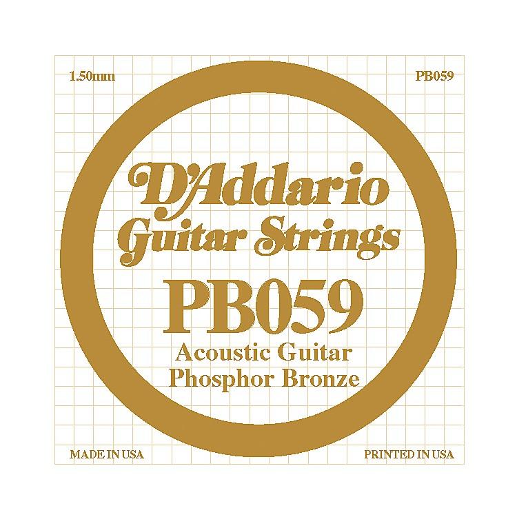 D'AddarioPB059 Single Phosphor Bronze String