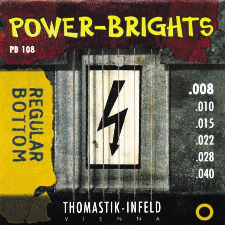 ThomastikPB108 Power-Brights Bottom Extra Light Guitar Strings