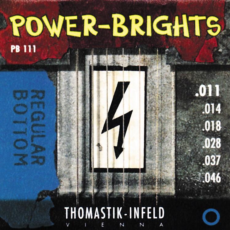 ThomastikPB111 Power-Brights Bottom Medium Electric Guitar Strings