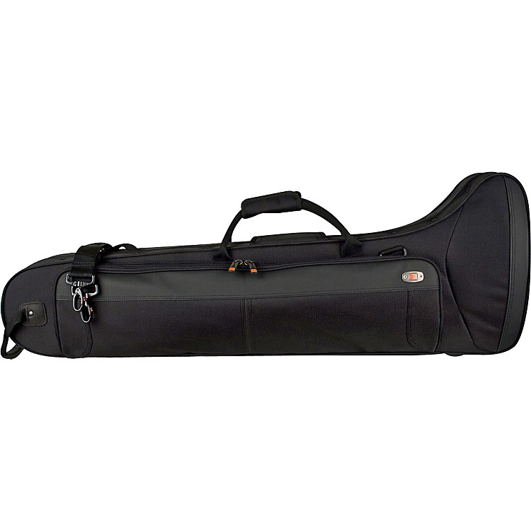 Protec PB306CTCH Contoured Straight/F Attachment Tenor Trombone PRO PAC Case PB306CT Black