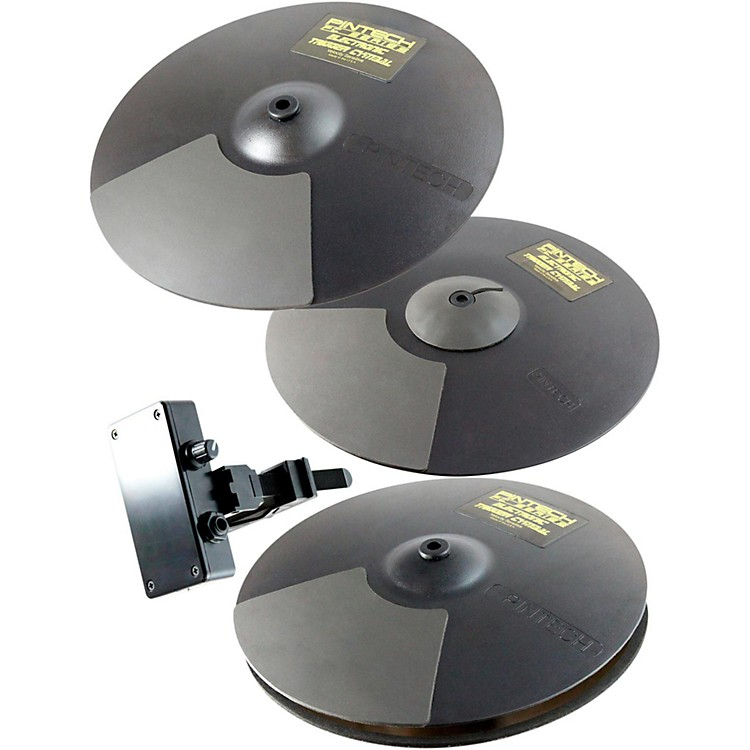 Pintech PC Series Cymbal Package 14/14/16 Black