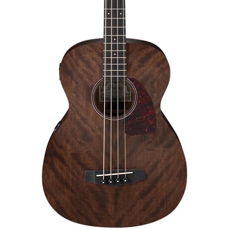 IbanezPCBE12 Grand Concert Acoustic-Electric Bass GuitarOpen Pore NaturalMahogany Top