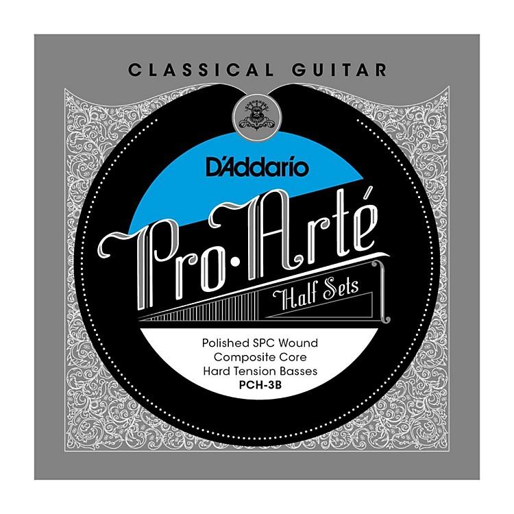 D'AddarioPCH-3B Pro-Arte Hard Tension Classical Guitar Strings Half Set