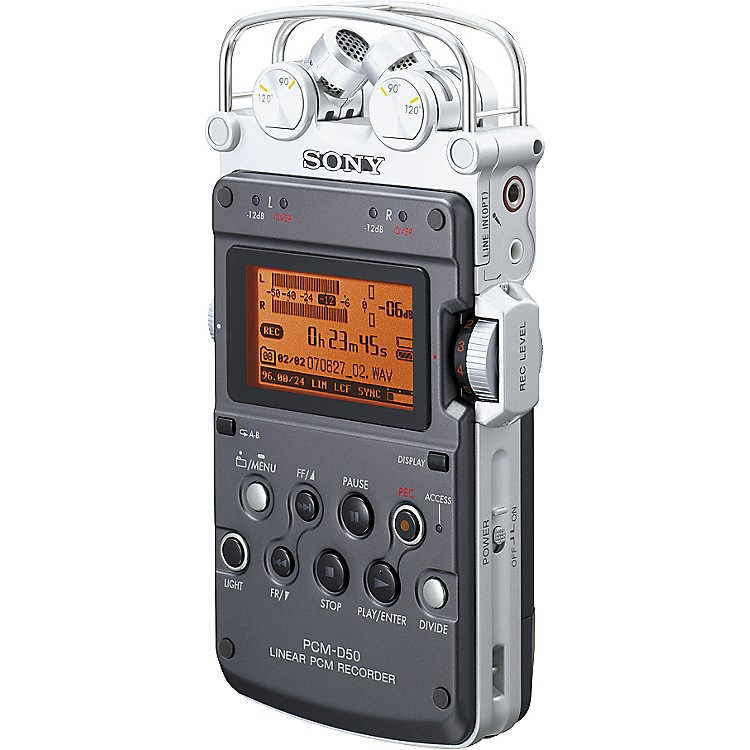 SonyPCM-D50 Portable Linear PCM Digital Recorder
