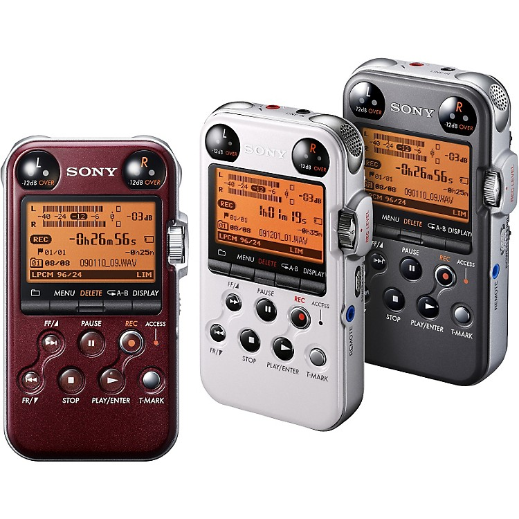 Sony PCM-M10 Portable Digital Recorder Gloss Red