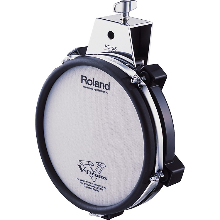 Roland PD-85 Mesh Dual Zone V Drum Trigger Pad Black 8 in.