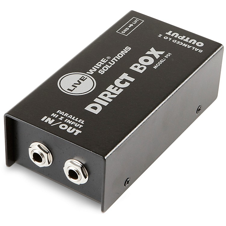 Live Wire PDI Double Shielded Heavy Duty Passive Direct Box
