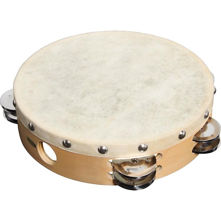 Sound Percussion LabsPDM2016M-R Tambourine with Calfskin Head