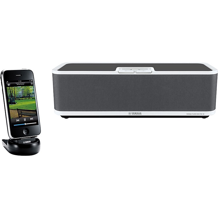 YamahaPDX-60 Portable Speaker Dock for iPod and iPhone