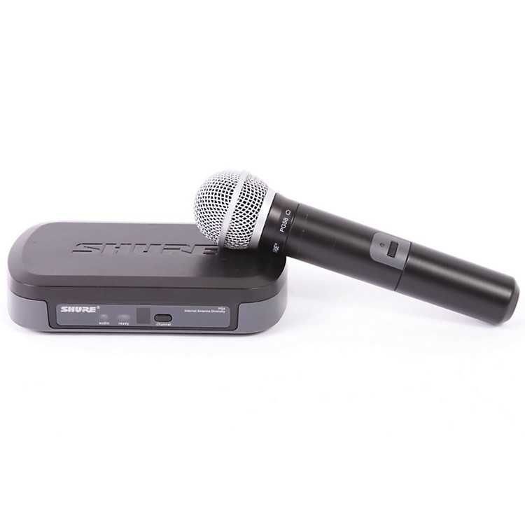 Shure PG24/PG58 Performance Gear Wireless Handheld Microphone System CH H7 886830575419