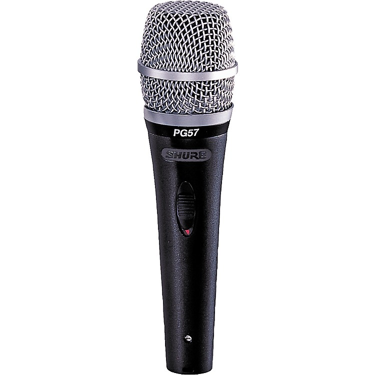 Shure PG57-LC Dynamic Microphone