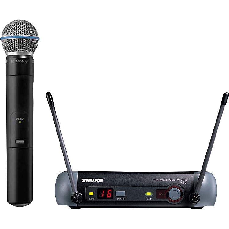 Shure PGX24/Beta 58 Handheld Wireless System