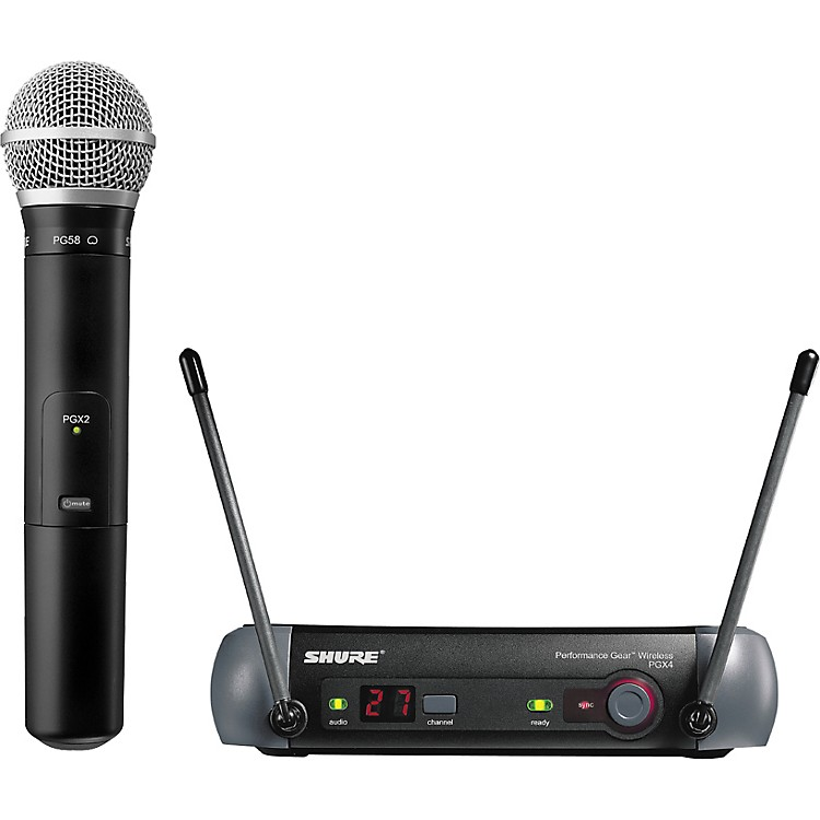 ShurePGX24/PG58 Handheld Wireless System