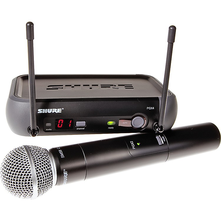 Shure PGX24/SM58 Handheld Wireless System Channel H6