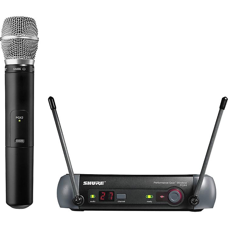 ShurePGX24/SM86 Handheld Wireless System