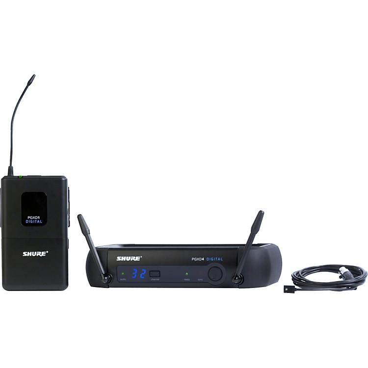ShurePGXD14/93 Digital Wireless System with WL93 Lavalier Mic