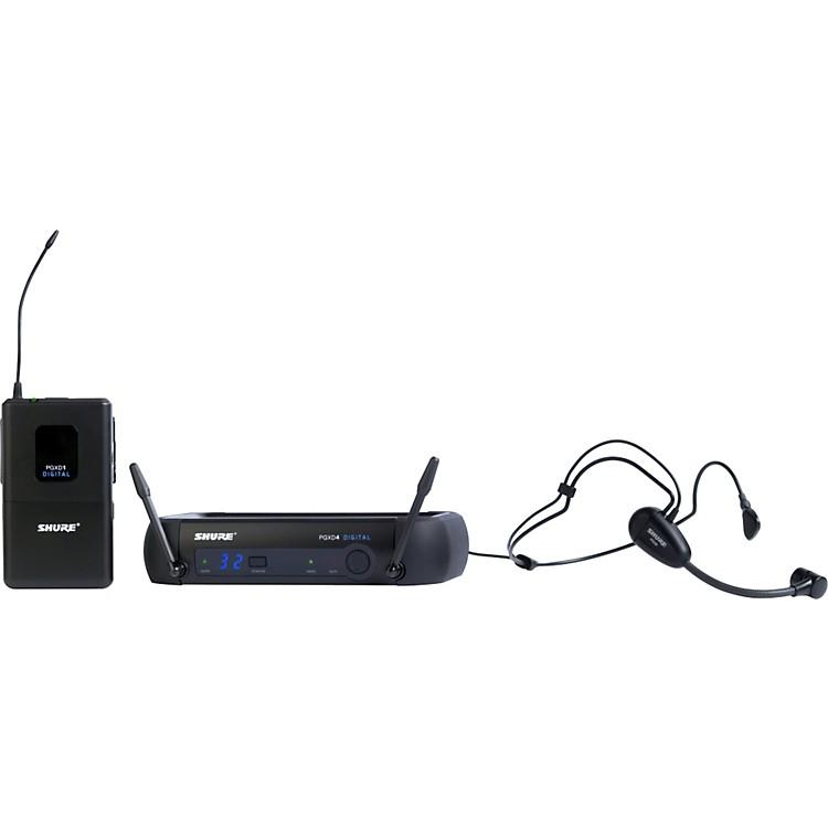 ShurePGXD14/PG30 Digital Wireless System with PG30 Headset Mic