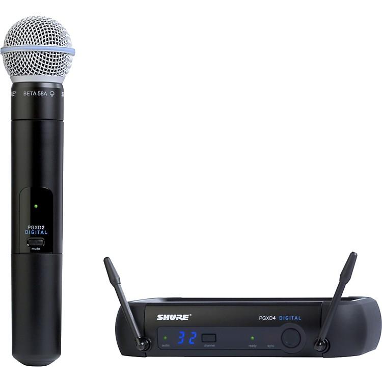 ShurePGXD24/Beta58A Digital Wireless System with Beta 58A Mic