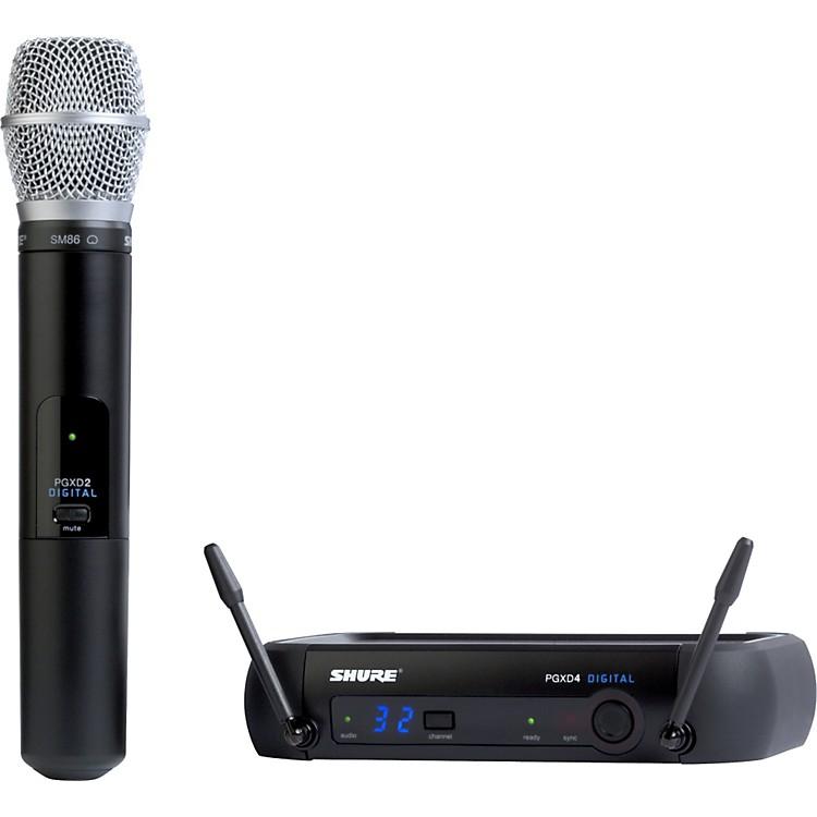 ShurePGXD24/SM86 Digital Wireless System with SM86 Mic