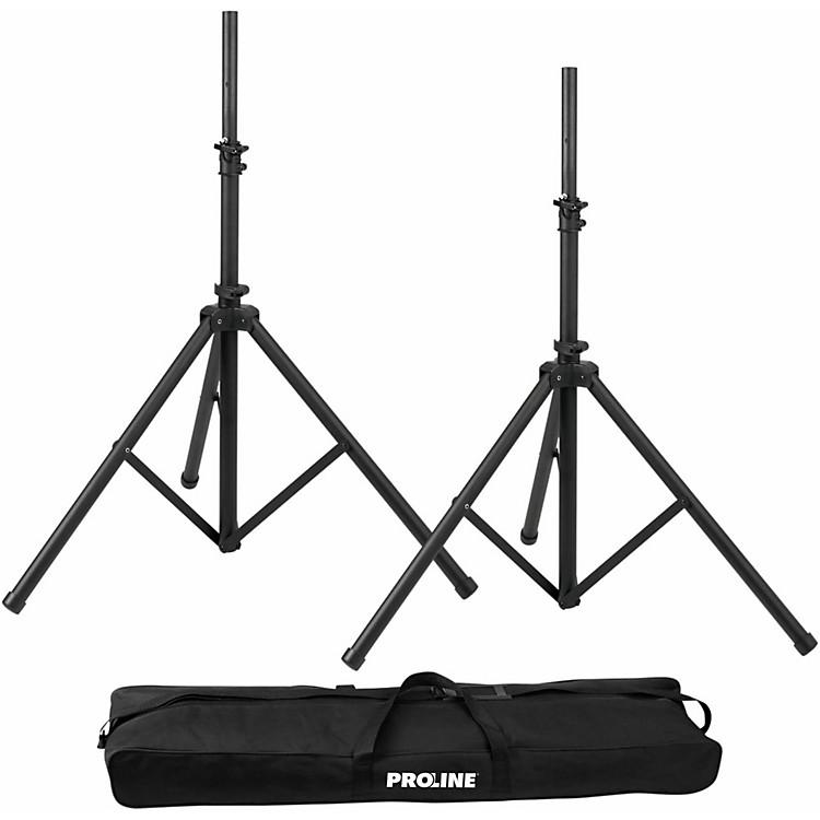 ProlinePLSPK2 Speaker Stand Set w/ Bag