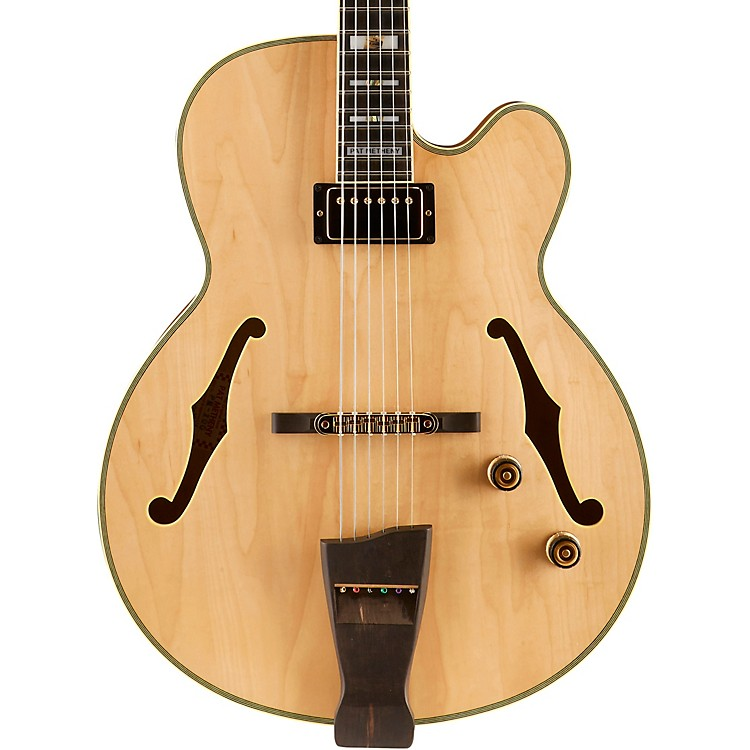Ibanez PM Pat Metheny Signature HollowbodyElectric Guitar Natural Natural