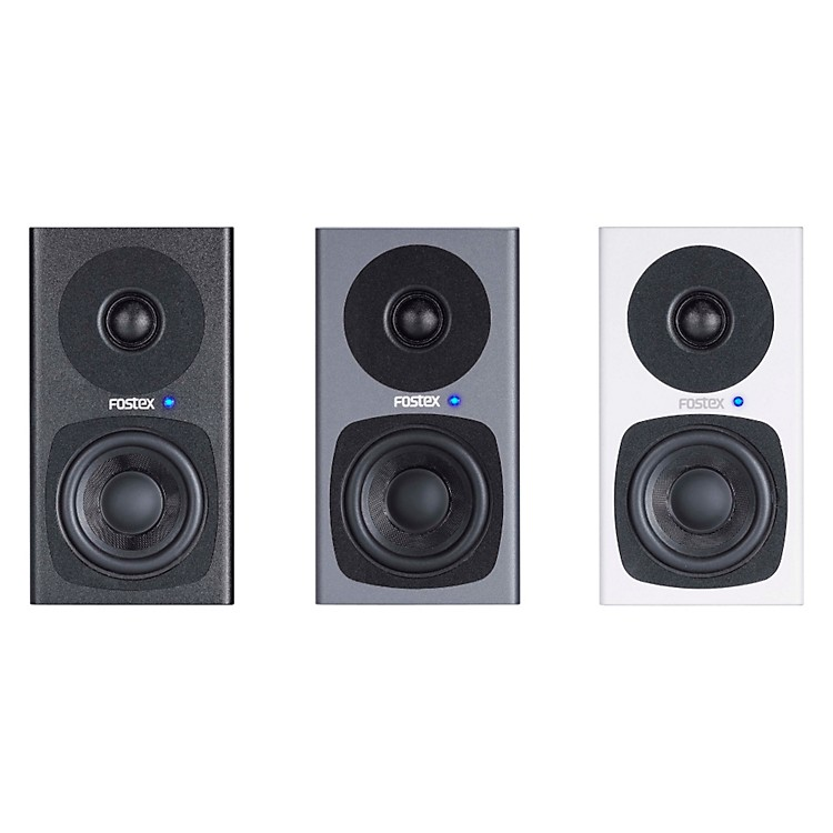 Fostex PM0.3 3 Inch Studio Monitors (Pair) Black