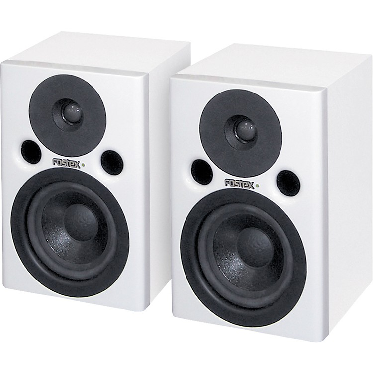 Fostex PM0.4W Powered Studio Monitors White