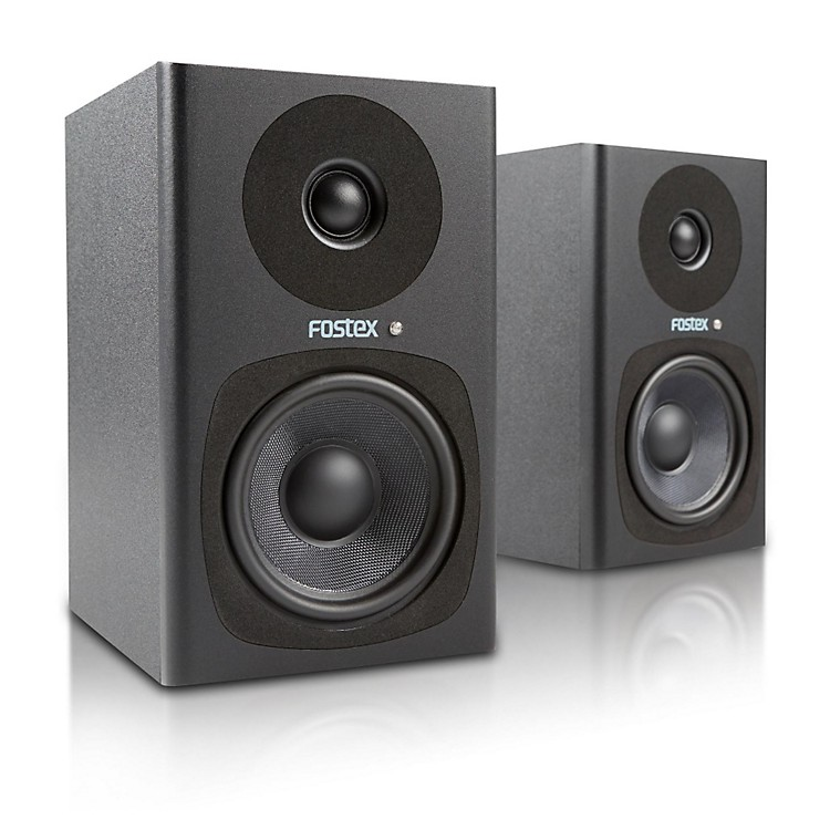 FostexPM0.4d Powered Studio Monitor (Pair)Black