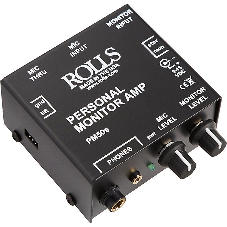 RollsPM50S Personal Monitor Amp