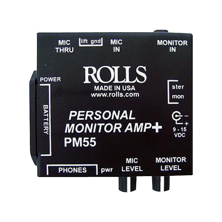 Rolls PM55 Personal Monitor Amp +