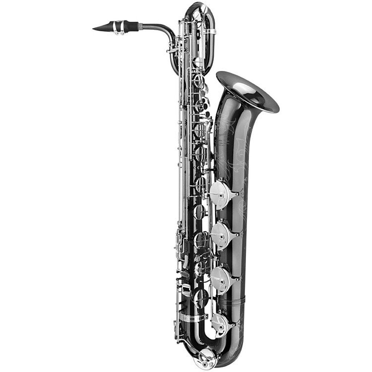 P. Mauriat PMB-500BXSK 'Black Pearl' Professional Bartione Saxophone