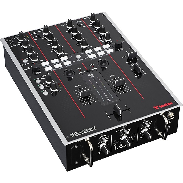 Vestax PMC-05 ProIV 2-Channel Digital DJ Battle mixer with MIDI black