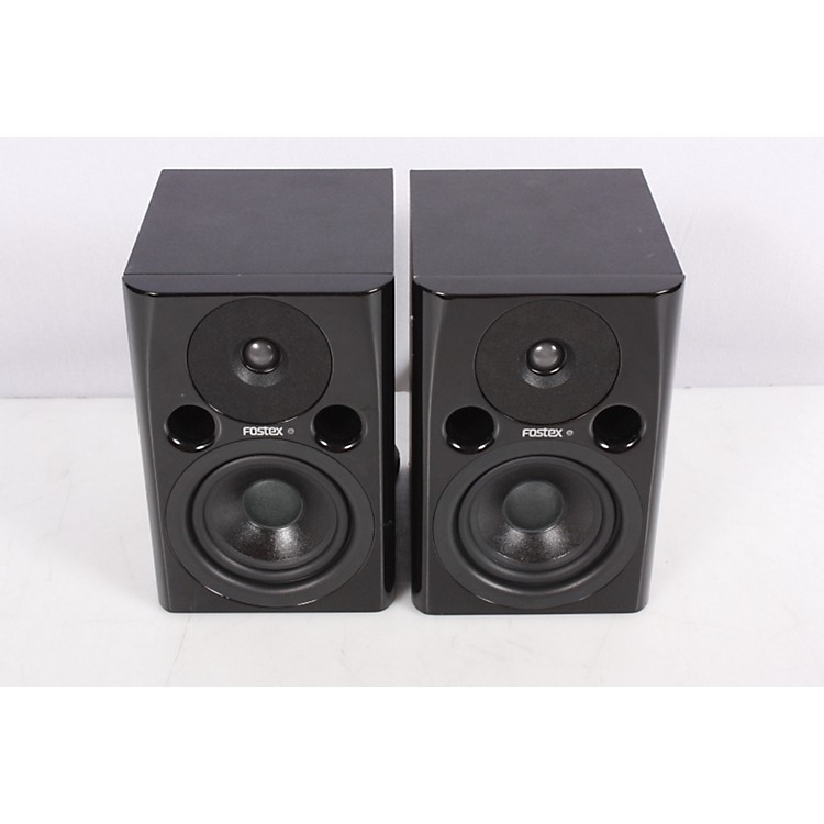 Fostex PMO.4n Powered Studio Monitor Pair Black 886830323447