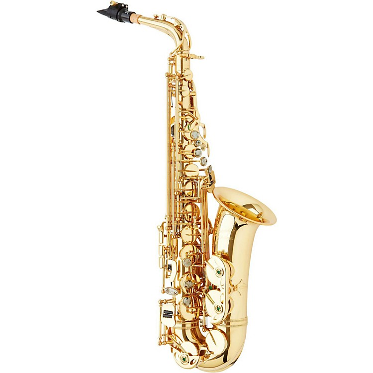 P. Mauriat PMSA-57GC Intermediate Alto Saxophone Jazz Package