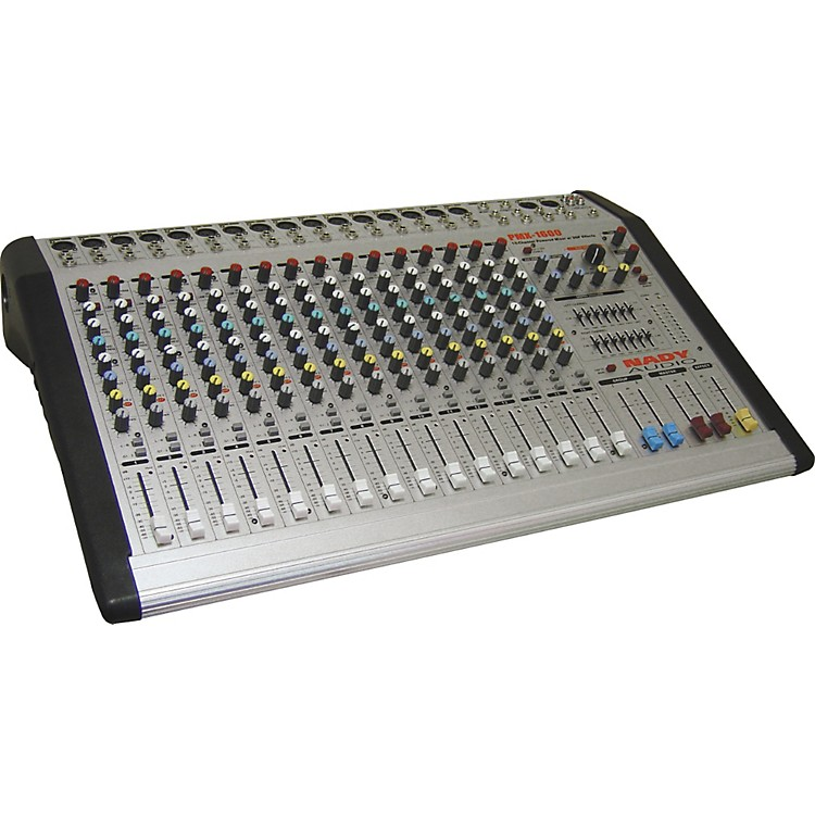 NadyPMX-1600 16 Channel/4 Bus Powered Mixer w/DSP Effects