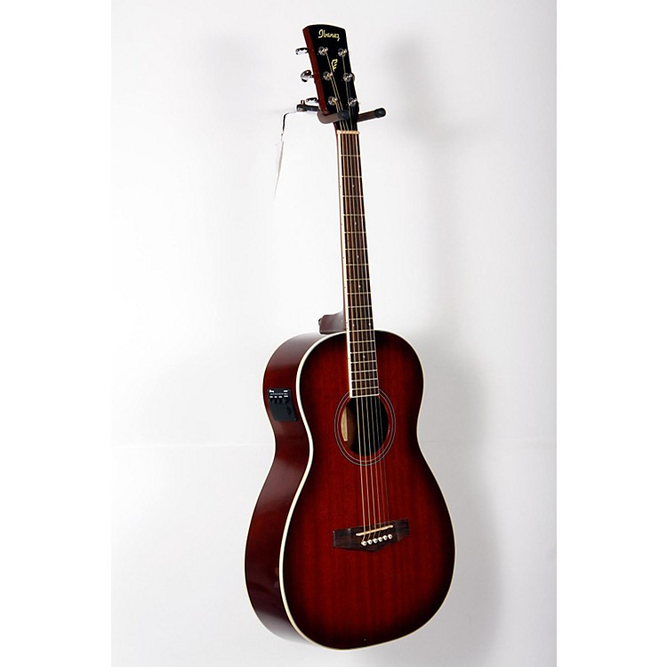 IbanezPN12E Mahogany Parlor Acoustic-Electric GuitarVintage Mahogany Sunburst888365846484