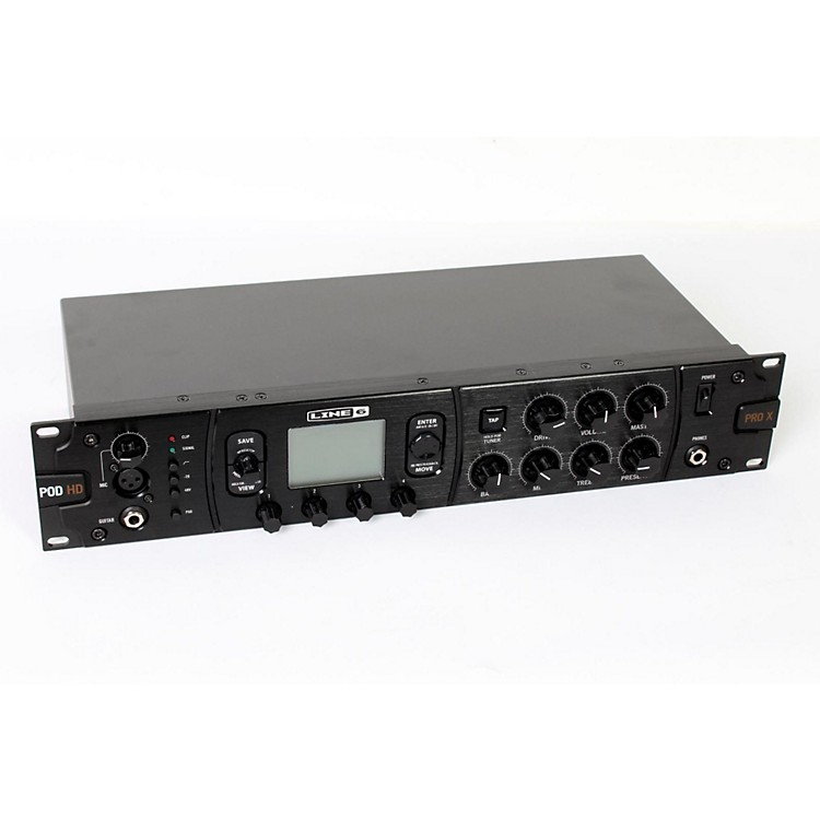 Line 6POD HD Pro X Guitar Multi-Effects Processor888365714066