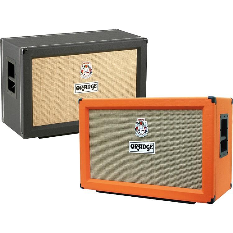 Orange AmplifiersPPC Series PPC212-C 120W 2x12 Closed Back Guitar Speaker CabinetBlackStraight