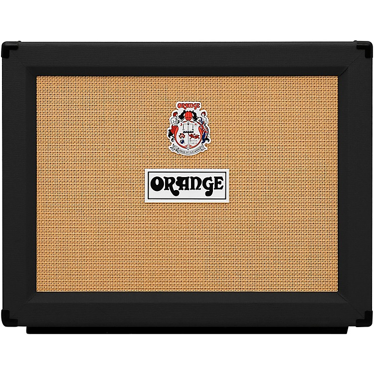 Orange Amplifiers PPC Series PPC212OB 120W 2x12 Open Back Guitar Speaker Cab Black