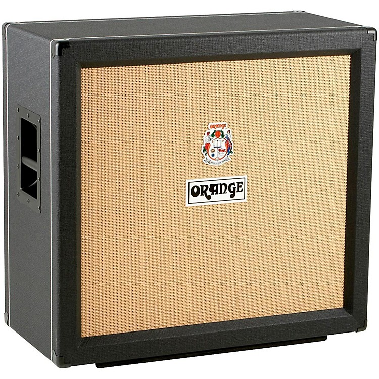 Orange Amplifiers PPC Series PPC412COM 4x12 240W Compact Closed-Back Guitar Speaker Cabinet Black