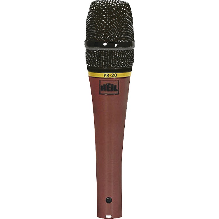 Heil SoundPR-20R Red Special Edition Handheld Dynamic Microphone