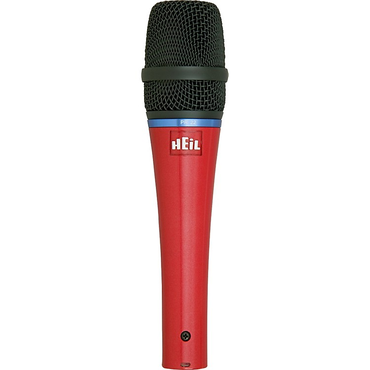 Heil Sound PR 22 Spotlight Series Dynamic Microphone Red