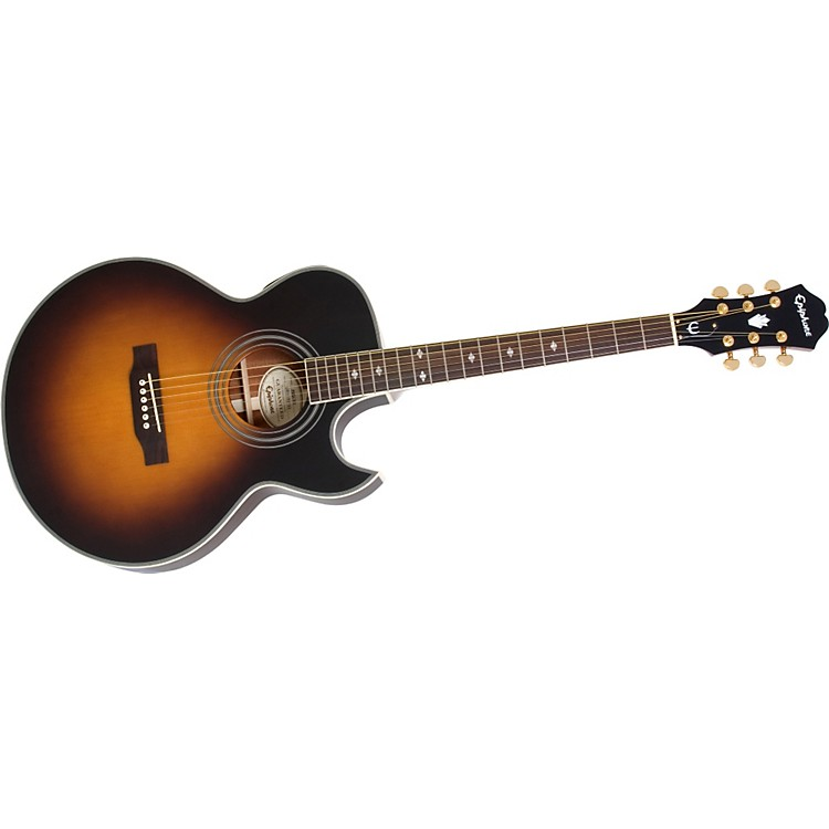 EpiphonePR5-E Acoustic-Electric GuitarVintage Sunburst