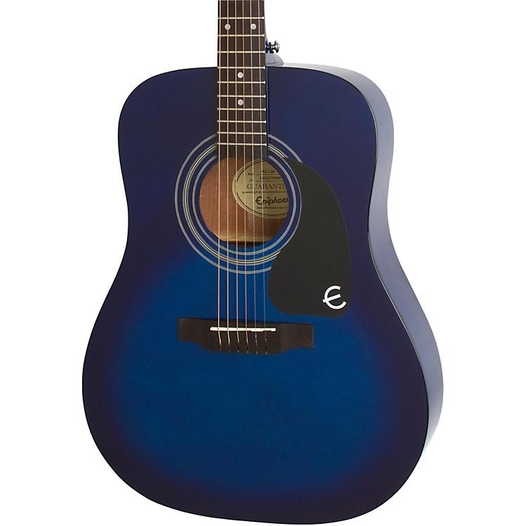 EpiphonePRO-1 Acoustic GuitarTransparent Blue