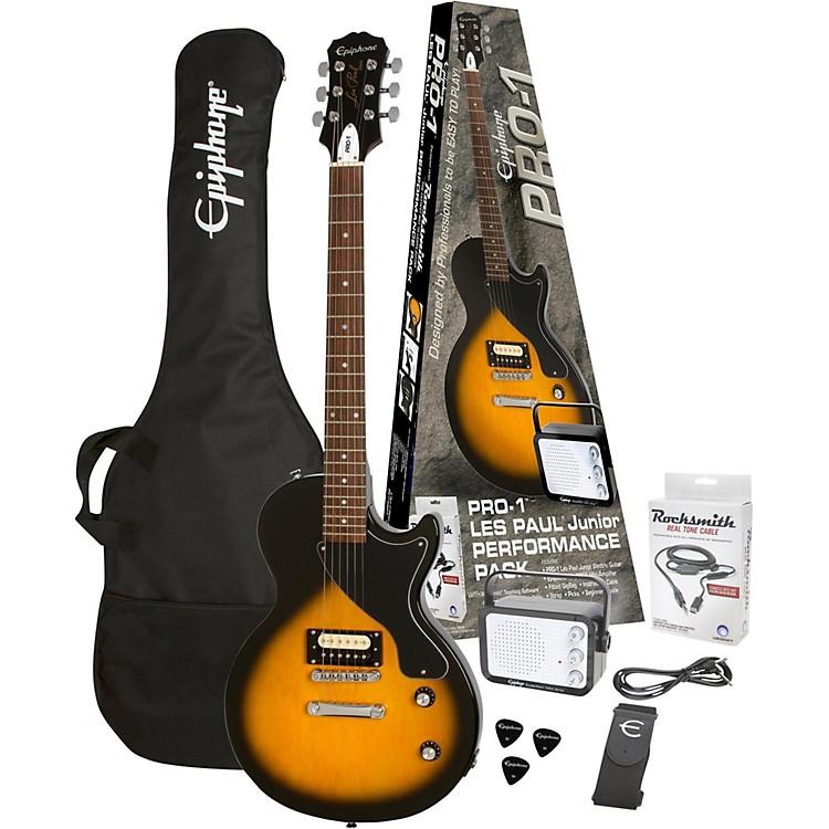EpiphonePRO-1 Les Paul Jr. Electric Guitar PackVintage Sunburst