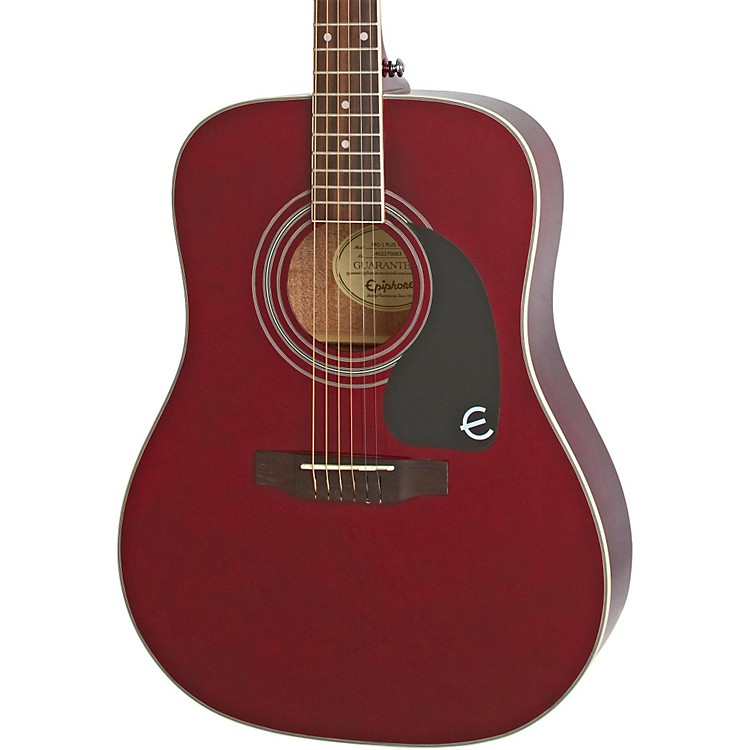 EpiphonePRO-1 PLUS Acoustic GuitarWine Red