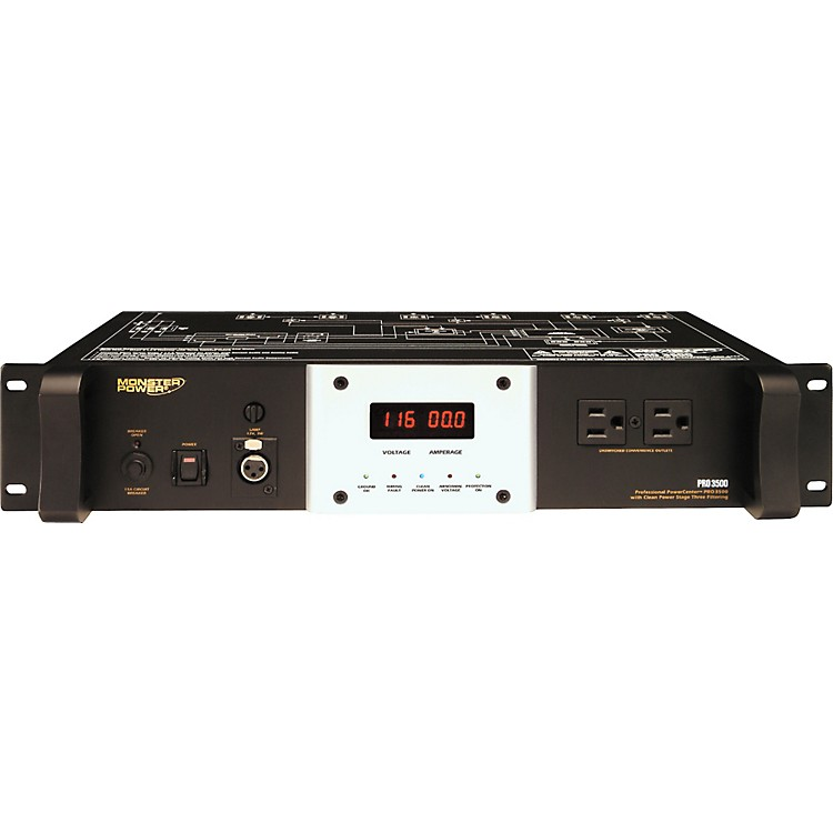 Monster Cable PRO 3500 Rack PowerCenter