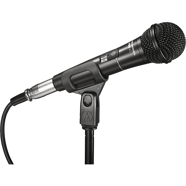 Audio-Technica PRO 41 Cardioid Dynamic Microphone