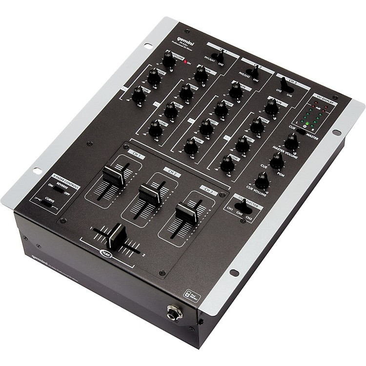 Gemini PS-626X 3-Channel DJ Mixer