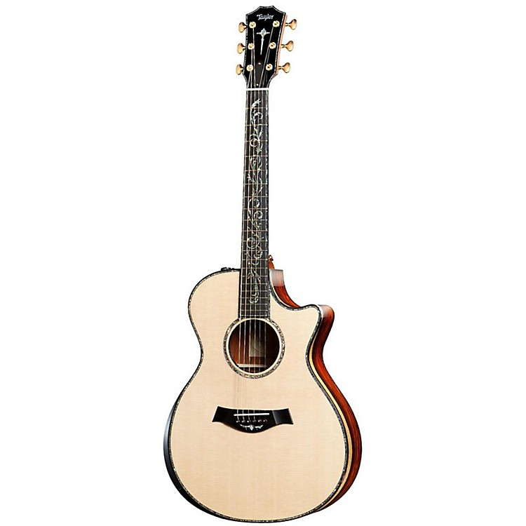 Taylor PS12ce Presentation Series Cocobolo/Spruce Grand Concert Acoustic-Electric Guitar Natural